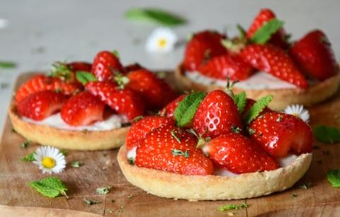 tartelette aux fraises 2